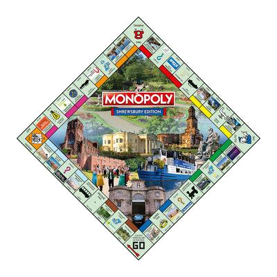 Shrewsbury Monopoly Board Game image number 3