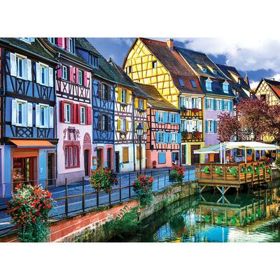 Holiday Escapes 3-in-1 Jigsaw Puzzle Set image number 4