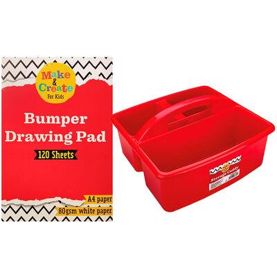 Kids Art Essentials & Caddy Bundle image number 4