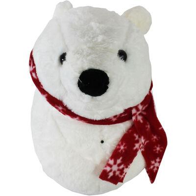 Rockin Polar Bear Singing Wall Ornament image number 1