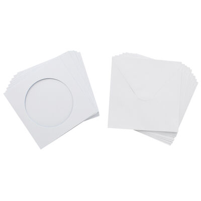 Window Cut Cards And Envelopes - Pack Of 10 image number 2