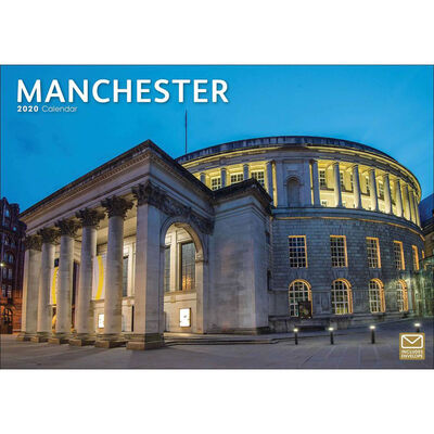 Manchester 2020 A4 Wall Calendar image number 1