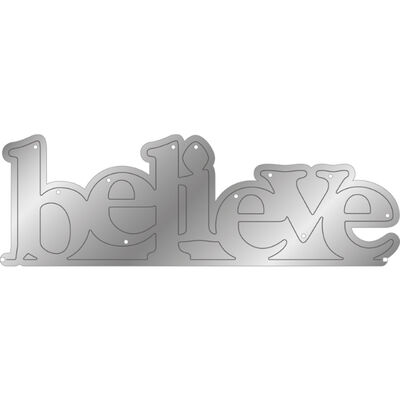 Gemini Stamp and Metal Die Set - Believe you can Achieve image number 2