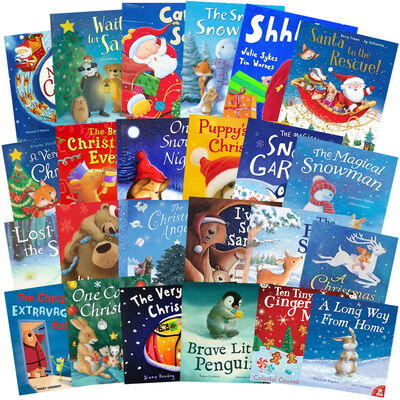 The Christmas Advent Collection: 24 Kids Picture Books Bundle