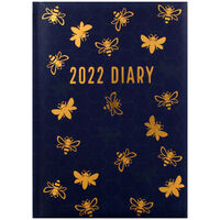 A5 Bee 2022 Day a Page Diary