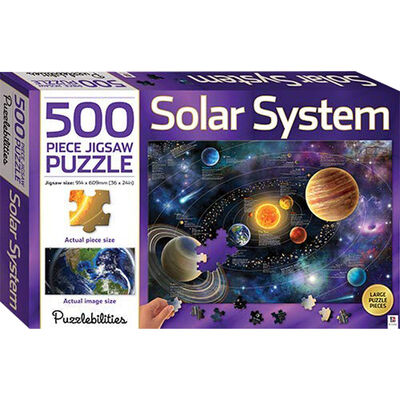 Solar System 500 Piece Jigsaw Puzzle image number 1