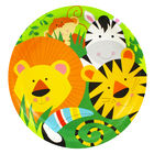 Animal Jungle Paper Plates - 8 Pack image number 1