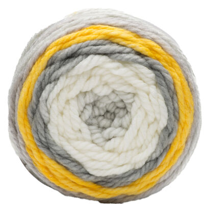 Bernat Pop Bulky Zesty Grey Yarn - 280g image number 2