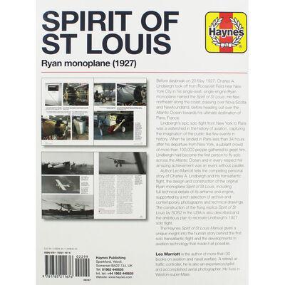 Haynes Spirit of St Louis: Ryan Monoplane image number 3