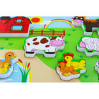 Farmyard Chunky Wooden Puzzle image number 4