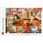 Cat's Sweets 1000 Piece Jigsaw Puzzle image number 1