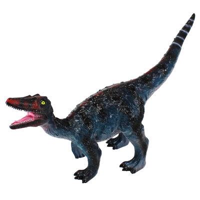 30 Inch Velociraptor Soft Dinosaur Figure image number 1