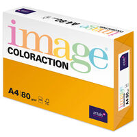 A4 Mid Orange Venezia Image Coloraction Copy Paper: 500 Sheets
