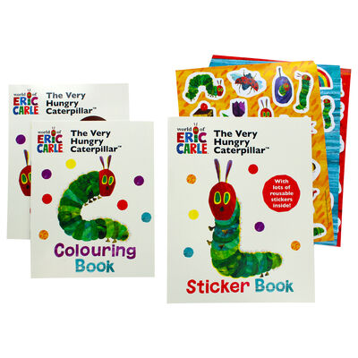The Very Hungry Caterpillar Activity Pack image number 3
