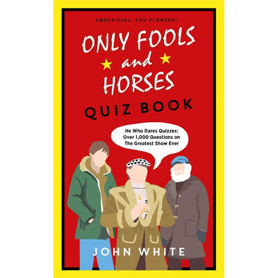 Only Fools and Horses Quiz Book & A Del of a Life 2 Book Bundle image number 3