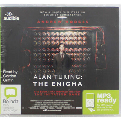 Alan Turing The Enigma: MP3 CD image number 1