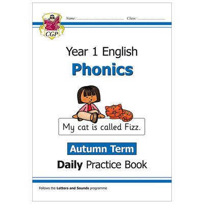 KS1 English Phonics Daily Practice Book: Year 1 Autumn Term image number 1