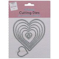 Heart Metal Cutting Die Set