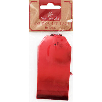 10 Luxury Gift Tags: Assorted image number 1