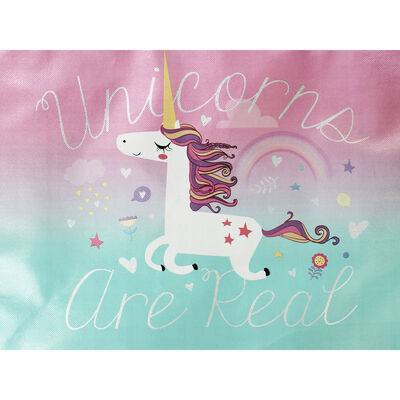 Unicorns are Real Giant Shopping Bag image number 2