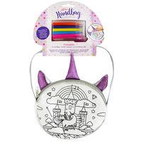 Colour Your Own Handbag - Magical Unicorn