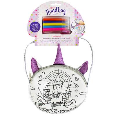 Colour Your Own Handbag - Magical Unicorn image number 1