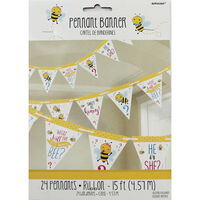 What Will It Bee Baby Shower Bunting