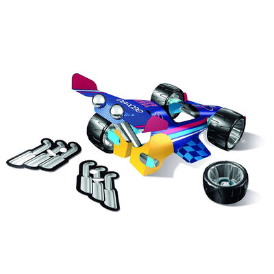 Geomag Wheels: Team Rush Magnetic Construction Set image number 2