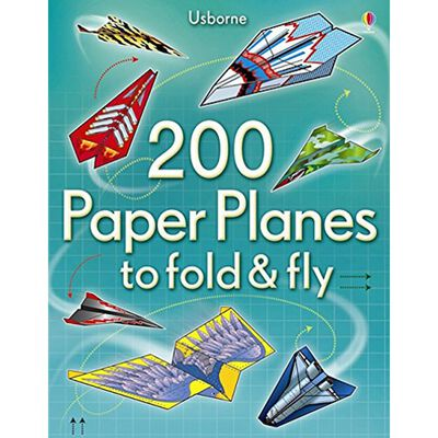 200 Paper Planes to Fold & Fly image number 1