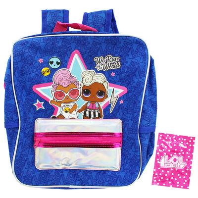 LOL Surprise Holographic Blue Backpack image number 2