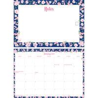 Floral 2021 Memo Calendar