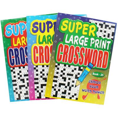 Super Large Print Crossword - Assorted image number 2