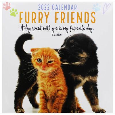 Furry Friends 2022 Square Calendar image number 1