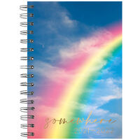 A5 Rainbow 2021-2022 Week to View Diary