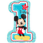28 Inch Mickey Mouse 1st Birthday Helium Balloon image number 1