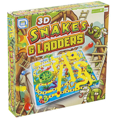 3D Snakes & Ladders image number 1