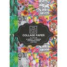 A4 Floral Collage Paper Booklet image number 1