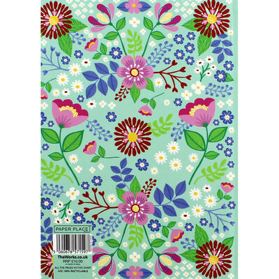 A5 Floral Day a Page 2020-21 Academic Diary image number 3