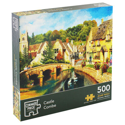 Castle Combe 500 Piece Jigsaw Puzzle image number 1