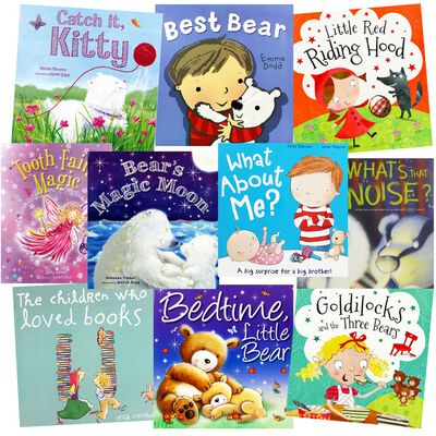 Bears And Friends: 10 Kids Picture Books Bundle image number 1