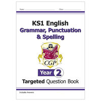KS1 English Targeted Question Book Grammar, Punctuation & Spelling: Year 2