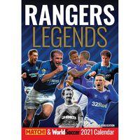 Rangers Legends FC A3 Unofficial Calendar 2021