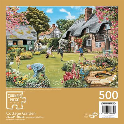 Cottage Garden 500 Piece Jigsaw Puzzle image number 3