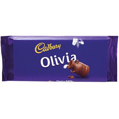 Cadbury Dairy Milk Chocolate Bar 110g - Olivia image number 1