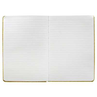 A5 Gold Glitter Cased Lined Journal image number 3