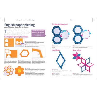 The Complete Beginner's Guide to Quilting and Patchwork image number 4
