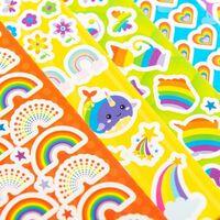 Rainbow Sticker Fun