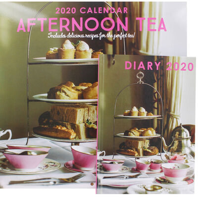 Afternoon Tea 2020 Calendar and Diary Set image number 1
