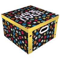 Game Over Collapsible Storage Box