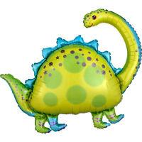 32 Inch Brontosaurus Super Shape Helium Balloon